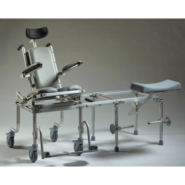 Nuprodx Rolling Toilet Commode Chair & Tub Slider MC6000Tilt Pediatric - Reliving Mobility