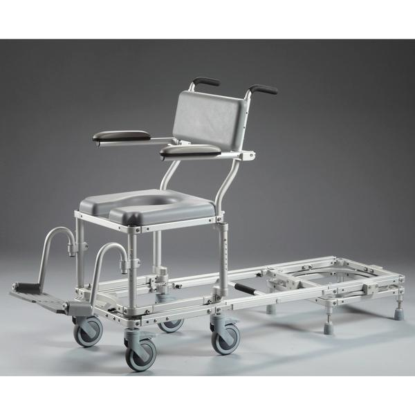 Nuprodx Rolling Toilet Commode Chair & Tub Slider MC6000RS (Narrow) - Reliving Mobility