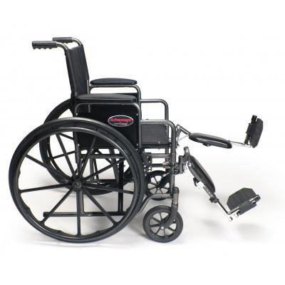 E&J Advantage (3H010200-1) Manual Folding Wheelchair - Reliving Mobility