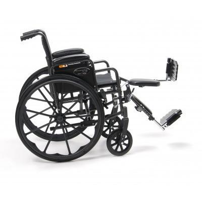Traveler L3 Lightweight Manual Folding Wheelchair (3F010120-1) - Reliving Mobility