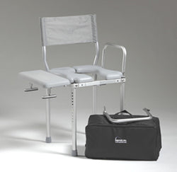 Nuprodx Travel Shower Toilet Commode Chair MC3000Tx - Reliving Mobility