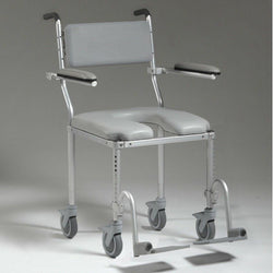 Nuprodx Multichair 4200 Roll-In Shower Chair With Larger Base Seat - Reliving Mobility