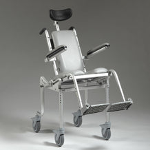 Nuprodx Roll in Shower Toilet Commode Chair MC4000Tilt Pediatric - Reliving Mobility