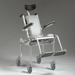 Nuprodx MC4000Tilt Pediatric Roll in Shower Toilet Commode Chair - Reliving Mobility