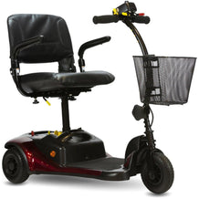 Shoprider Dasher 3 Wheel Portable Scooter GK83, Burgundy - Reliving Mobility