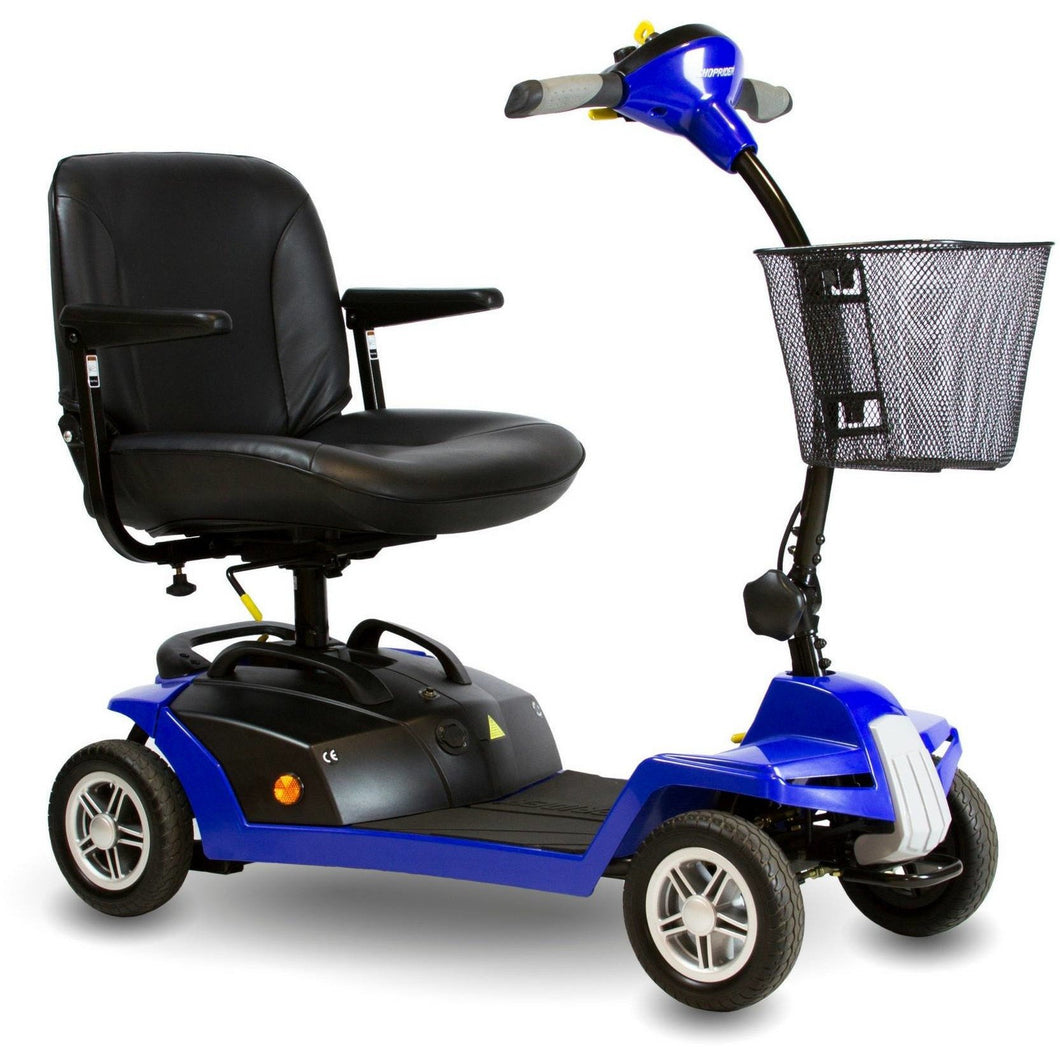 Shoprider Escape 4 Wheel Portable Scooter 7A-BGRD, 250 lb Capacity - Reliving Mobility