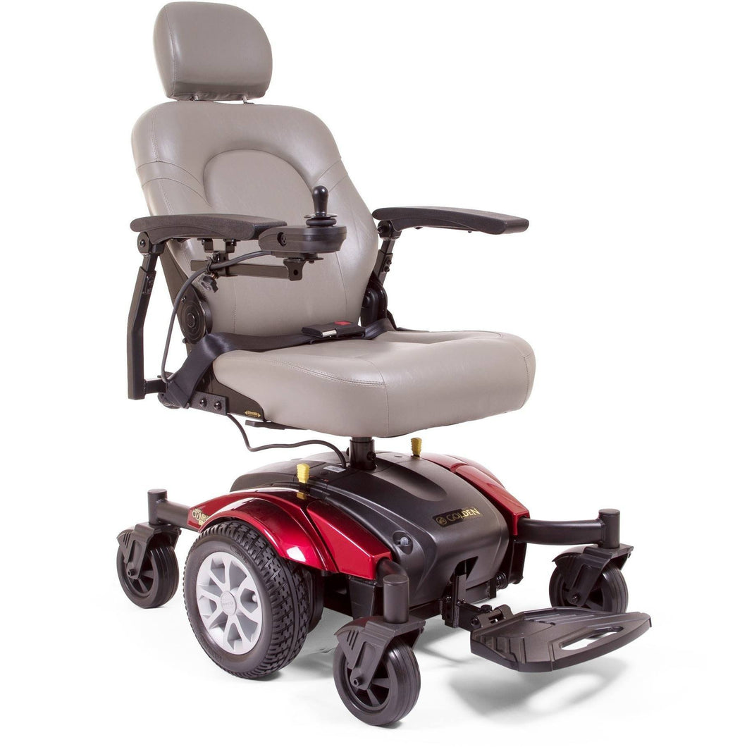 Golden Compass Sport Electric Power Wheelchair GP605M, 300 lb Capacity - Reliving Mobility