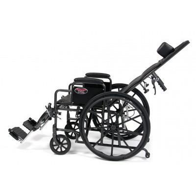 E&J Advantage (3K010130) Recliner Wheelchair - Reliving Mobility