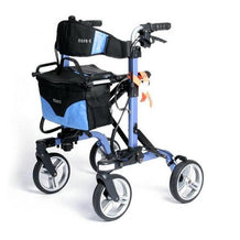 EV Rider Move X Compact 4 Wheels Rollator Walker - Reliving Mobility