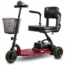 Shoprider Echo SL73 Portable 3 Wheel Scooter, Burgundy - Reliving Mobility