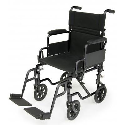 E&J Navigator (EJNAV-18BK-1) Folding Wheelchair - Reliving Mobility