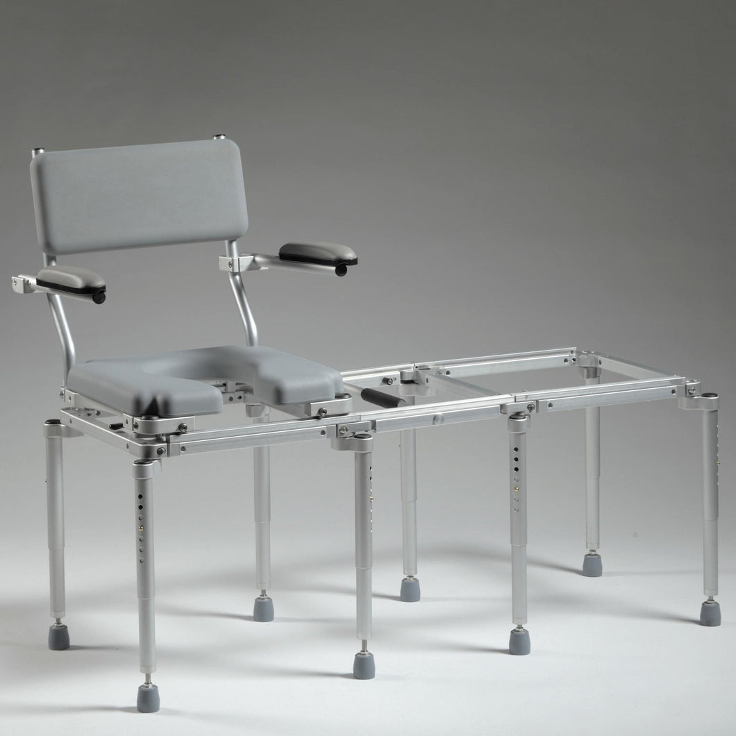 MultiChair 5000 Commode/Shower Chair & Tub Slider System - Reliving Mobility