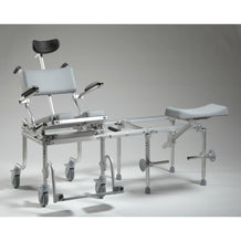 Nuprodx MC6000Tilt Rolling Toilet Commode Chair & Tub Slider - Reliving Mobility