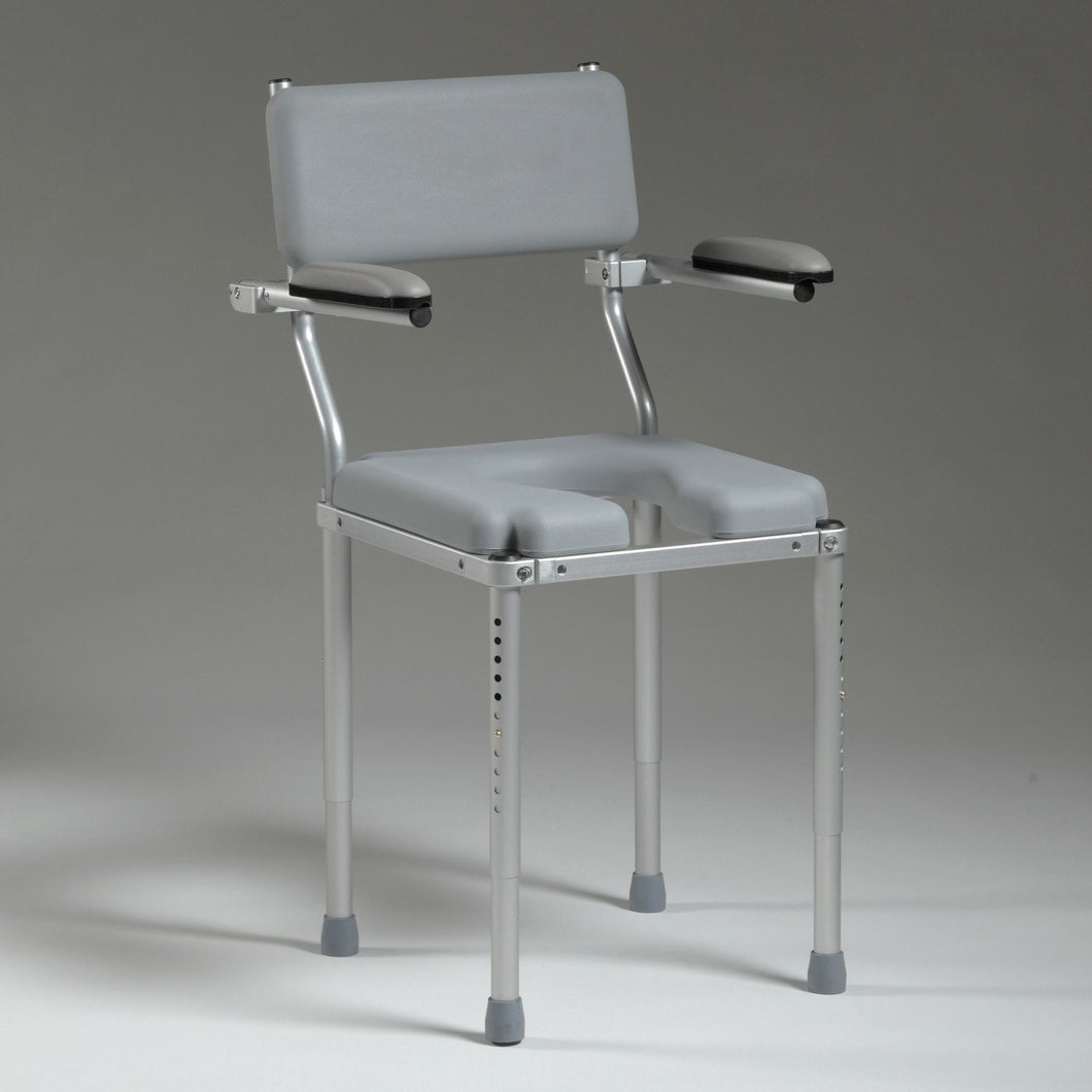 MultiChair 3000 Height Adjustable Portable Shower Chair by Nuprodx - Reliving Mobility