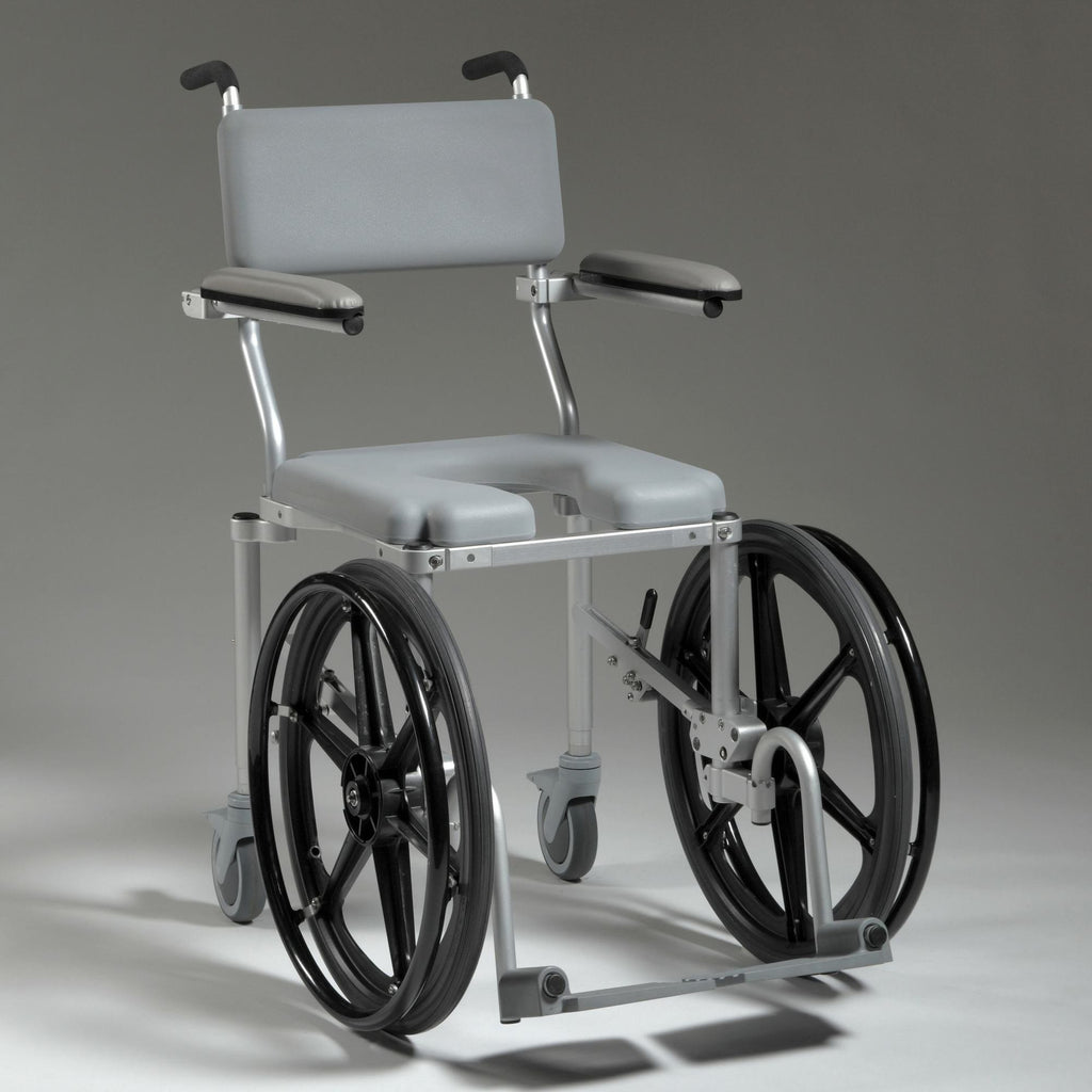 Multichair 4020rx Shower Amp Commode Wheelchair Front