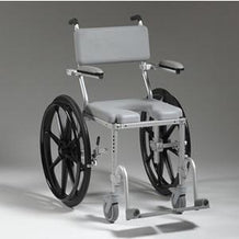Nuprodx Shower Toilet Commode Wheelchair MC4024 (Large Wheels) - Reliving Mobility