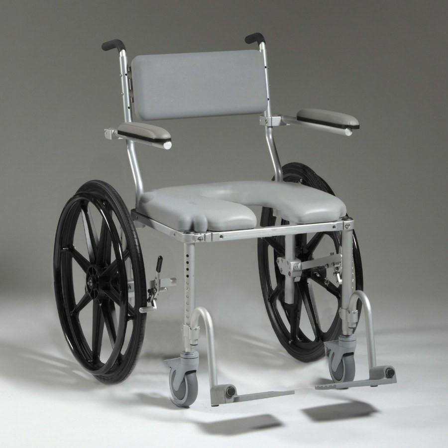Multichair 4224 Shower Amp Commode Wheelchair Large Seat