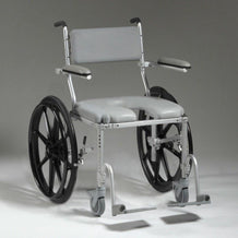 Nuprodx Shower Toilet Commode Wheelchair MC4224  (Large) - Reliving Mobility
