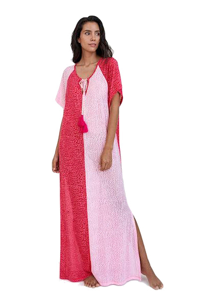 Two Tone Maxi Cover up