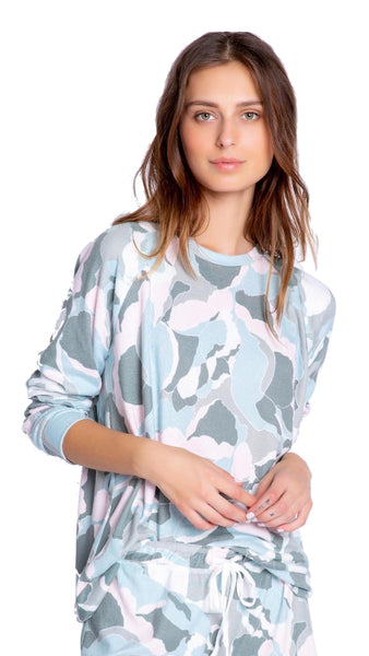 CAMO BLOOM LOUNGEWEAR SET