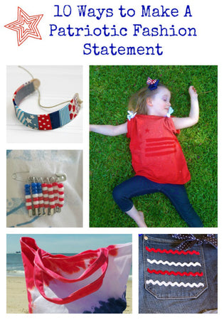 10 Ways to Make a Patriotic Fashion Statement