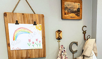 Fun Ways to Display Your Child's Artwork