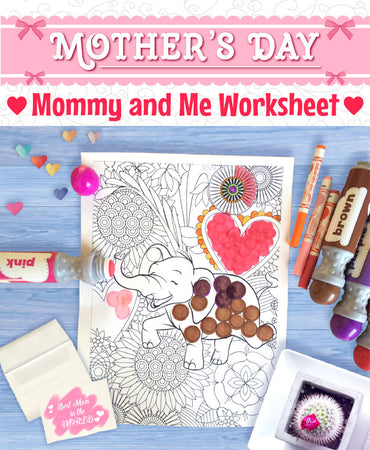 Mother's Day - Mommy and Me Worksheets!