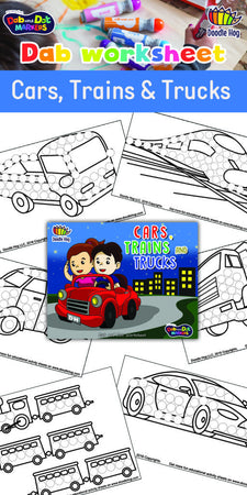Our Newest Cars, Trains and Trucks Workbook