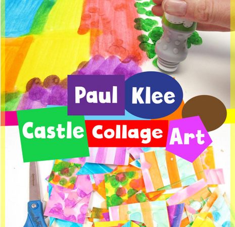 Paul Klee Castle Collage
