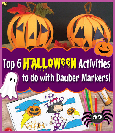 Top 6 Halloween Activities to do with Dauber Markers!