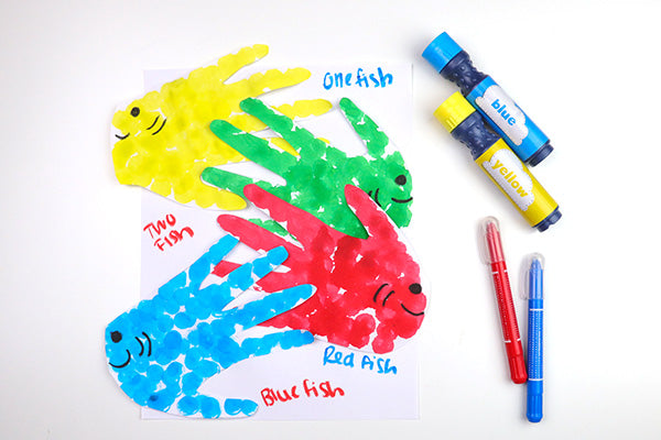 Celebrate Dr. Seuss Day with One Fish, Two Fish, Red Fish, Blue Fish