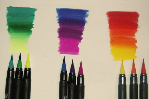 Everything You Need To Know To Create Art With Watercolor Brush Pens Doodle Hog
