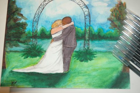 wedding watercolor