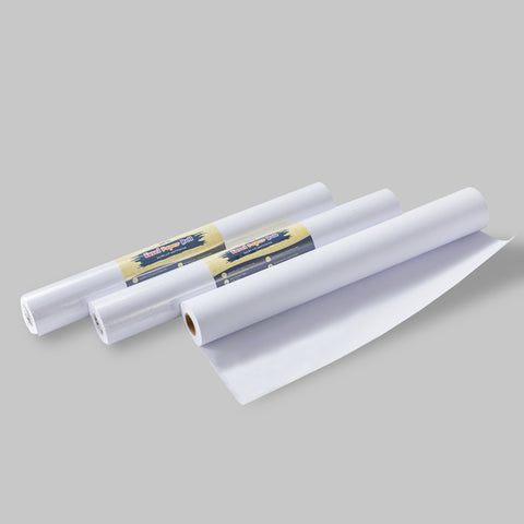 "3 Pack (17"" x 75 Foot) Easel Paper Roll fits Most Standard easels & Dispenser for Crafting Activity"