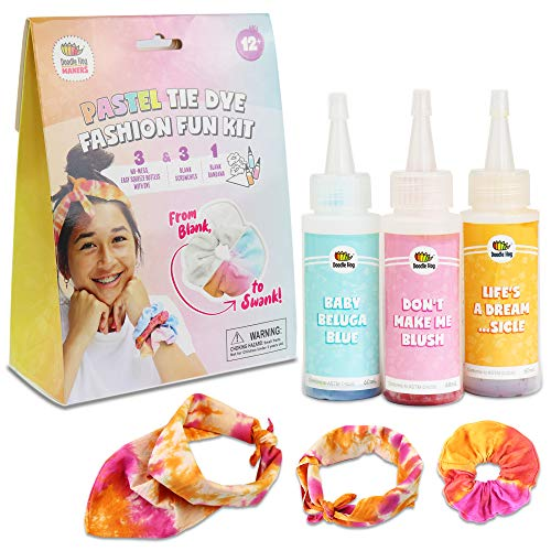 Pastel Fashion Tie Dye Kit (3-Pack)