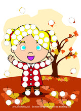 Load image into Gallery viewer, Free Download | Fall Themed Dot Worksheets