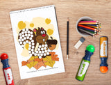 Free Download | Fall Themed Dot Worksheets