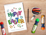 Free Download | Easter Themed Dot Worksheets