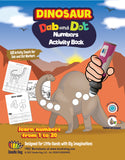 Dinosaur Numbers Learning 123 (60 pages)