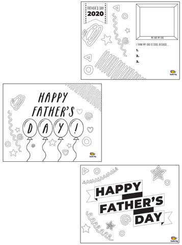 Rad Dad Father's Day Placemat