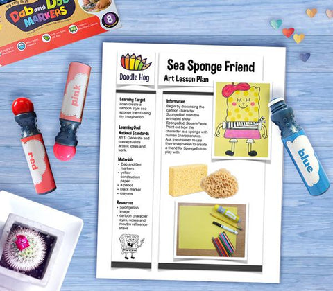 Free Download | Sea Sponge Friend Lesson Plan