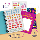 Girls Gratitude Journal for Kids, Teens - 100 Page Diary With Writing Prompts
