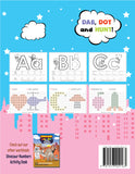 Dot and Learn A-Z Alphabet Activity Book (52 one sided - non bleed through sheets)