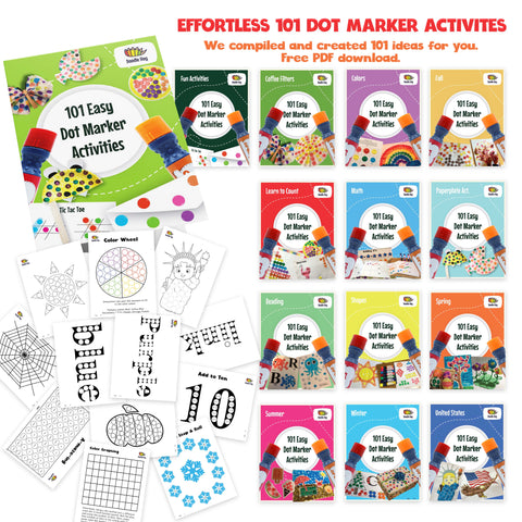 Doodle Hog 101 Easy Dot Marker Activities PDF