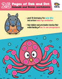 Free Download | Animals and Ocean Friends Dot Worksheets