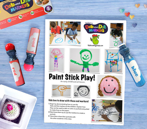Free Download | Paint Sticks