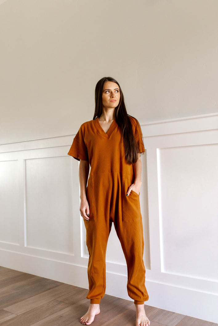 GNO Jumpsuit (Almond)