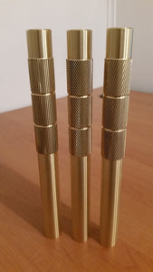 25mm Spiral Cut Grip Bad Boy Brass Drift.