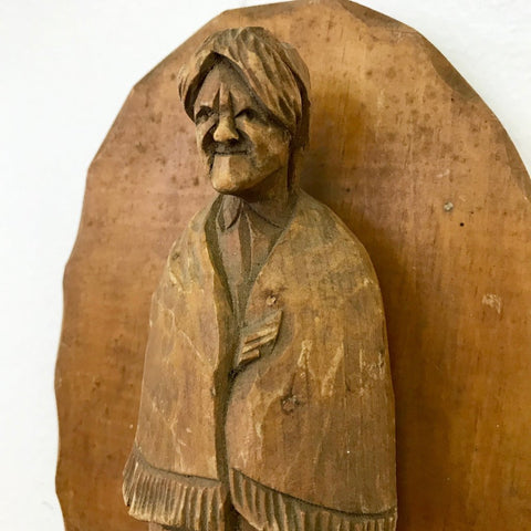 Hand-Carved Woman