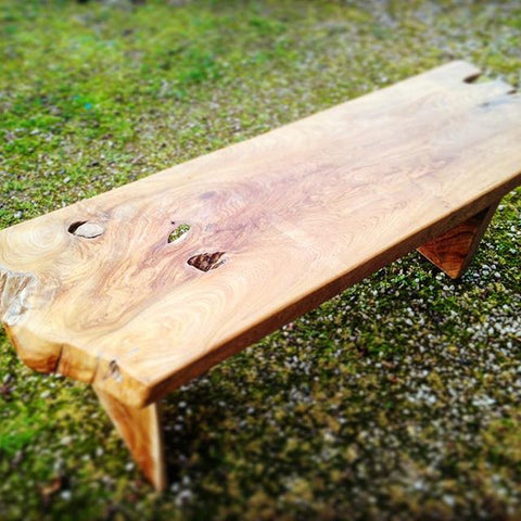 Bench/ Coffee table - Teak Root - Teak Desire
